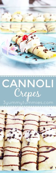 This Cannoli Crepe i