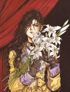 "Alexiel from ""Angel Sanctuary"" series by manga artist Kaori Yuki."