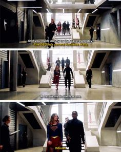"""The DEO has several facilities, Kara"" - Jon and Kara #Supergirl"