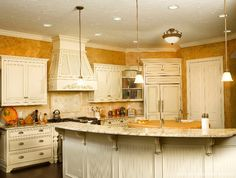Mẫu trần thạch cao phòng bếp 07