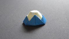 運気UP! 折り紙で作る季節の箸置き: 折り紙で作る箸置き【祝☆世界遺産登録】富士山~Orijinal Mount Fuji~
