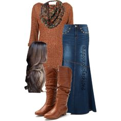 Dress modest long apostolic fashion ideas Source by dresses idea Fashion Models, Look Fashion, Trendy Fashion, Autumn Fashion, Womens Fashion, Mode Outfits, Fall Outfits, Casual Outfits, Fashion Outfits