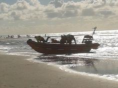 de maria paula terugkomst op het strand