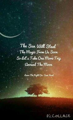 A magical trip to moon  before  sun cud intervene