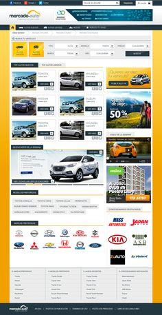 Diseño Web - Mercado Auto on Behance