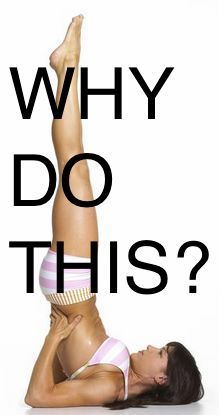 Learn how to do a shoulder stand and why. Yoga