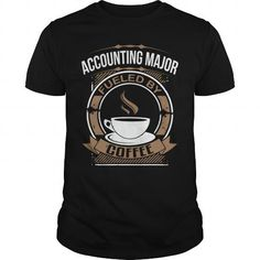 Awesome Tee accounting fueled coffee T shirts #tee #tshirt #Job #ZodiacTshirt #Profession #Career #accountant