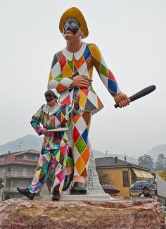 Statua di Arlecchino - Valle Brembana