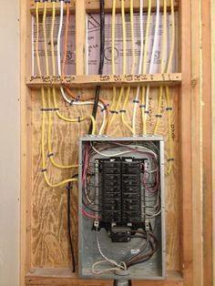 wiring a breaker box breaker boxes 101 box electrical wiring rh pinterest com Electrical Breaker Box Wire Box