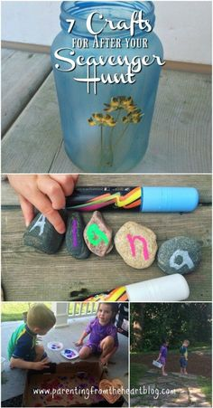 Bring your nature scavenger to life with these 7 nature scavenger hunt crafts. Find printables for your nature scavenger hunt, ideas for what to look for and then 7 activities to do with your kids afterwards! Simple ideas, play-based learning, easy crafts for preschoolers, toddlers