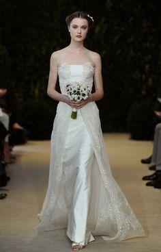 Abiti da sposa Carolina Herrera collezione 2014