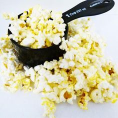Make your own 100 calorie snacks! A variety of ideas via Shape [Air-Popped Popcorn with Salt: 3 Cups = 100 calories]