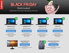 Lenovo Black Friday 2017 Ads and Deals Lenovo Black Friday will bring discounts on the brand's best and most popular products, like the ThinkPad and the Ideapad. Get everything that you nee. Black Friday Sale Ads, Black Friday 2019, Cyber Monday 2019, Cyber Monday Deals, Mode Yoga, Electronic Deals, Deal Sale, Online Shopping Deals, Weekly Ads