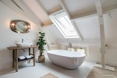 Through The Roof, Das Hotel, Clawfoot Bathtub, Bathroom Inspiration, Boutique, Natural Light, Design, Magazine, Lifestyle