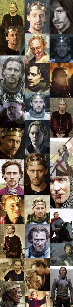 The many faces of Prince Hal (Henry V) @Alexandra Rovirosa GIRL YOU NEED TO SEE THIS.