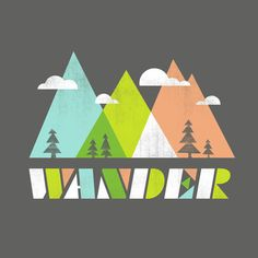 wander - nice font