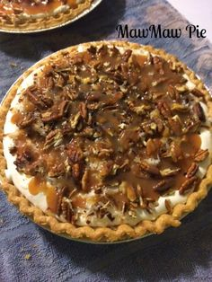 THIS has got to be my number one favorite pie of ALL times! This is so good aft… THIS has got to be my number one favorite pie of ALL times! This is so good after one bite you will want to eat the whole thing, but i… Pecan Recipes, Pie Recipes, Sweet Recipes, Dessert Recipes, Frozen Desserts, Easy Desserts, Delicious Desserts, Good Pie, Best Pie