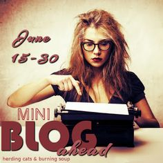 So, I was going to have my first post be next Monday about where I've been and why I closed down the site, but when I learned that the Mini Blog ahead challenge was taking place tomorrow I HA…