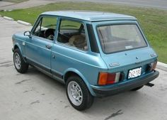 Learn more about Rare in the USA: 1979 Autobianchi Abarth on Bring a Trailer, the home of the best vintage and classic cars online. Fiat Abarth, Classic Italian, Small Cars, Classic Cars Online, Fiat 500, Automotive Design, Maserati, Mazda, Cars And Motorcycles