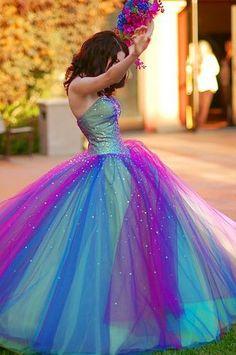 So pretty!!! Love all the different colors!