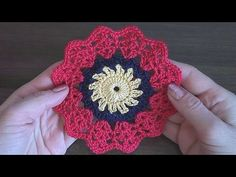 http://www.notikaland.com/ Easy Сrochet Mandala doily Tutorial Part 1 Как связать мандалу крючком Часть 1. Part 2 - https://youtu.be/Sl8mTXCXO9U, Part 3 - ht...