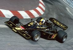 Gunnar Nilsson (John Player Team Lotus), Lotus 77 - Ford-Cosworth DFV 3.0 V8, 1976 Monaco Grand Prix, Circuit de Monaco
