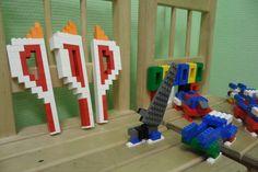 Олимпийские факелы Lego