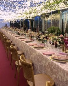 Great Team, Fairy Lights, Wedding Events, Table Settings, Table Decorations, Instagram, Home Decor, Decoration Home