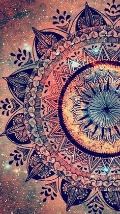 art, backgrounds, colores, inspiration, life, mandalas, wallpapers, First Set on Favim.com