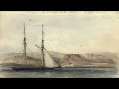 ▶ A Voyage of Sketches: The Art of Conrad Martens  associated with Darwin - YouTube
