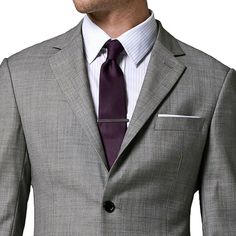 http://chicerman.com - Gray tailored suit