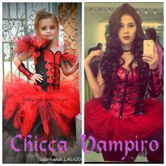 déguisement de chica Vampiro par Delfy et ses petits doigts