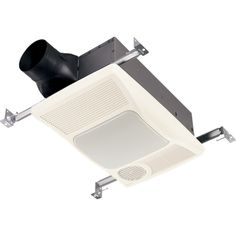 Found it at Wayfair - 100 CFM Bathroom Fan with Heater and Light