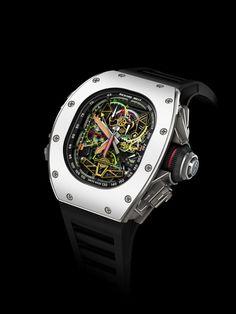 Richard Mille 50-02 ACJ Tourbillon » La Revue des montres