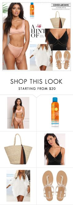 """I'm all set for summer!"" by beyza1234 ❤ liked on Polyvore featuring Tobi, WithChic, Head Over Heels by Dune, Summer, stylish, holidays, Honeymoon and summer2017"