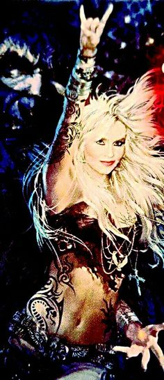 Dorothee Pesch (born 3 June 1964), popularly known as Doro Pesch or Doro, is a German hard rock singer-songwriter, formerly front-woman of the heavy metal band Warlock.