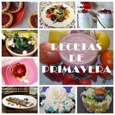 RECETAS DE PRIMAVERA, las flores inundan la cocina!!