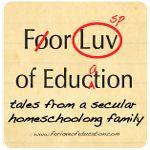 for love of education - Kindergarten Curriculum
