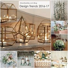 After visiting a conference earlier this month, we were inspired by all of the interior design trends for 2016 and 2017. It got us thinking about the impact of these on event decor. Take a look on the Stressfreehire.com blog for more on this years design trends. www.stressfreehire.com/blog #venuetransformers