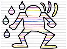fiche graphisme 1 Keith Haring, Ecole Art, Arts Ed, Art Graphique, Free Website, Art Plastique, Art Lessons, Preschool, Arts And Crafts