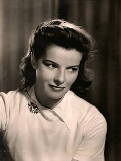 Katharine Hepburn 1944, photo by Clarence Sinclair Bull