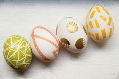 Wie Sie Ihre Ostereier mit Washi Tape dekorieren