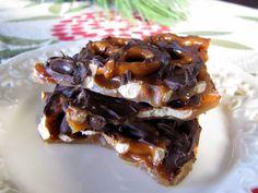 Mennonite Girls Can Cook: Salted Toffee Pretzel Bark