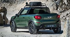 MINI Officially Introduces us to Paceman Adventure Pickup Truck ...