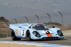 Porsche 917 - The car of Michael Delaney (aka Steve McQueen). Also the official winner of the 1970 & 1971 24 Hours of Le Mans