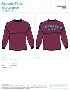 d6c6aae22646d Oklahoma Chi Omega Spirit Jersey 2015