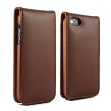 BRUNSWICK ENGLAND Brown Leather iPhone 5 Case - £49.95