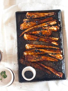 Sweet and Sticky Parsnips
