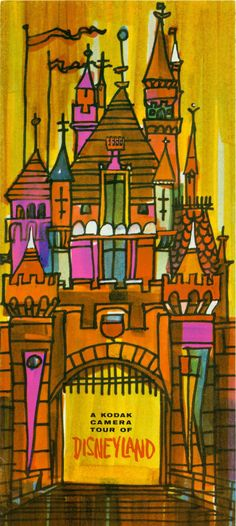 #Disneyland illustration