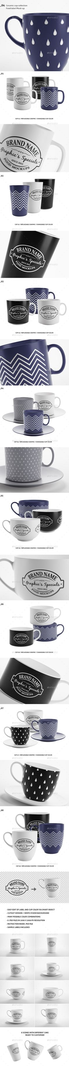Mug/Cup Mockups — Photoshop PSD #Mocku up #collection • Available here → https://graphicriver.net/item/mug-and-cup-mockups/18837304?ref=pxcr
